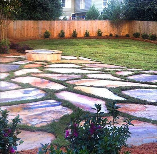 Flagstone Firepit Patio Review