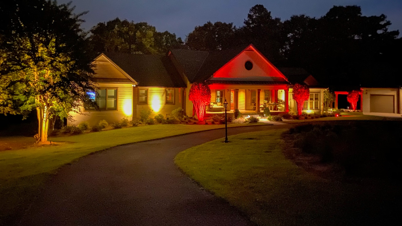 Outdoor Lighting at Kentucky Downs in Macon GA